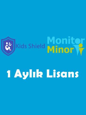 Kids shield 1 aylık lisans