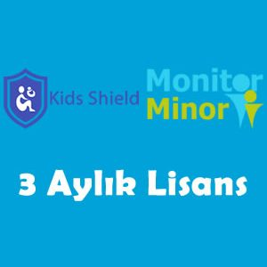 Kids shield 3 aylık lisans